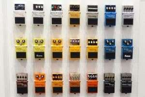 Types of guitar effects